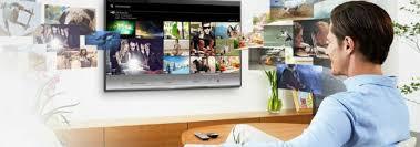 استفاده از اینترنت در تلویزیون الجی