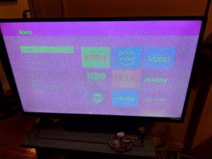 مشکلات مربوط به تصویر تلویزیون LED الجی