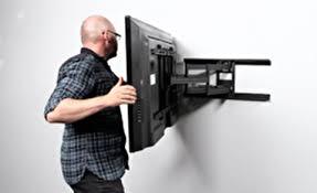 نصب تلویزیون ال ای دی به دیوار