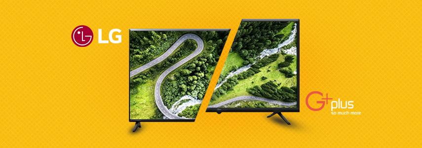 تلویزیون ال جی یا جی پلاس