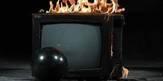 بوی سوختگی تلویزیون