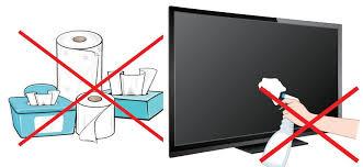 تمیز کردن صفحه نمایشگر